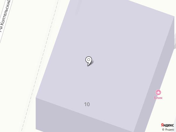 ВТ-Центр на карте Москвы