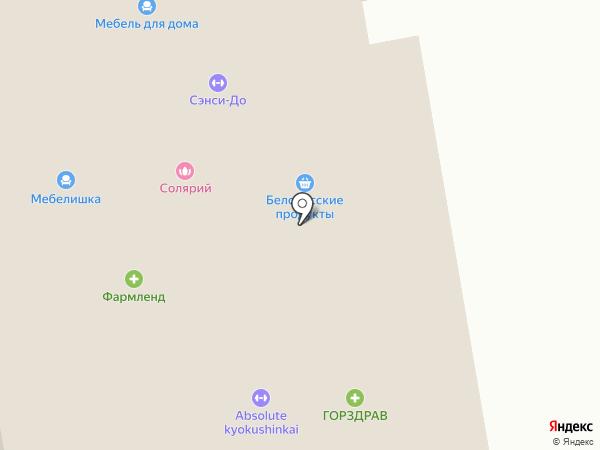 Ветеринарная клиника на карте Москвы