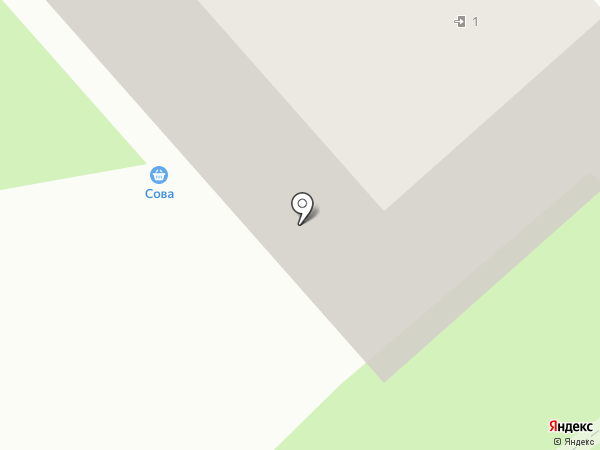 Киоск по продаже питьевой воды на карте Тулы