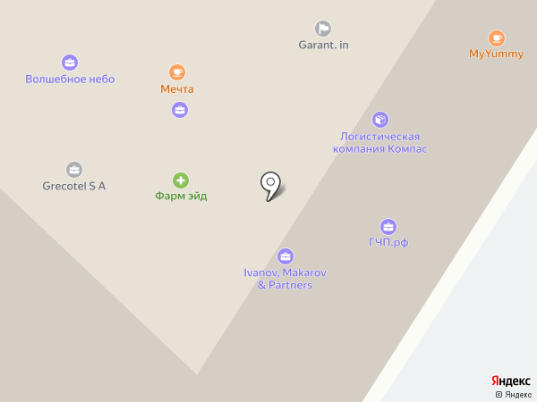 Daev Plaza на карте Москвы