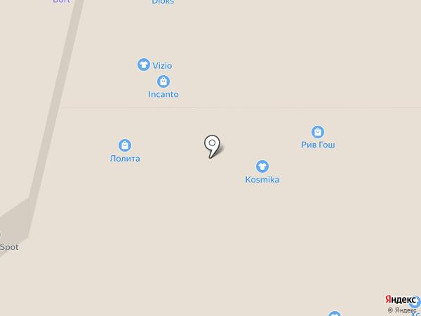 KW Kosmika на карте Тулы