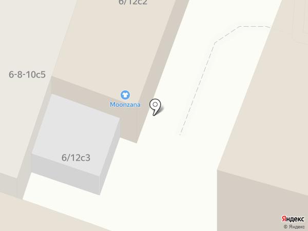 Moonzana на карте Москвы