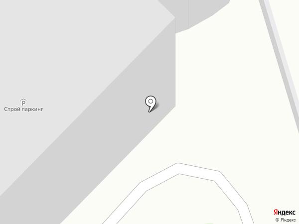 Строй-Паркинг на карте Москвы