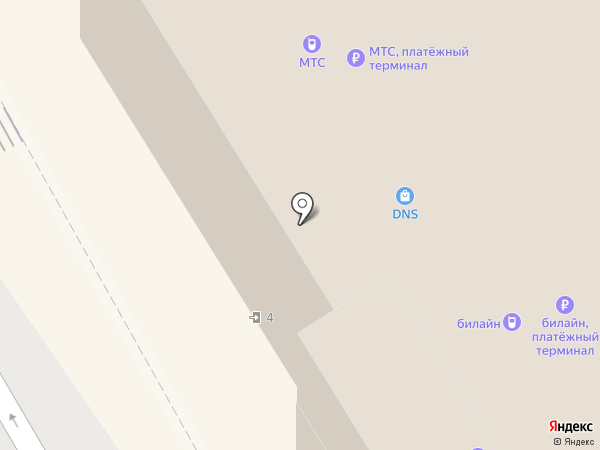 ДНС на карте Тулы