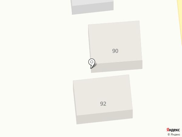 Продовольственный магазин на карте Варениковской