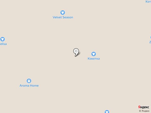 Koketka на карте Тулы