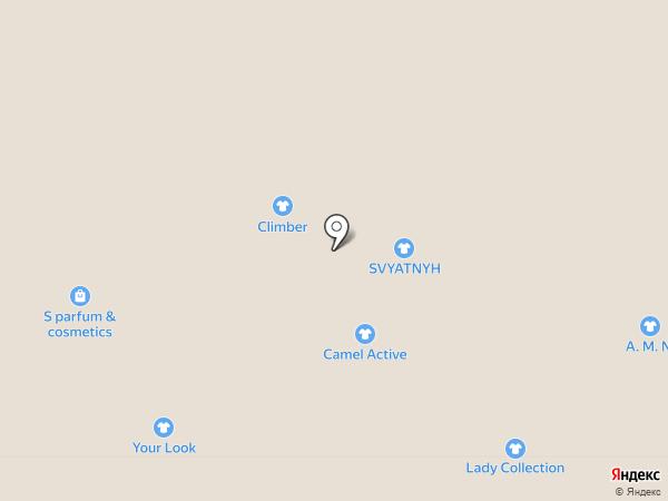 Svyatnyh на карте Тулы