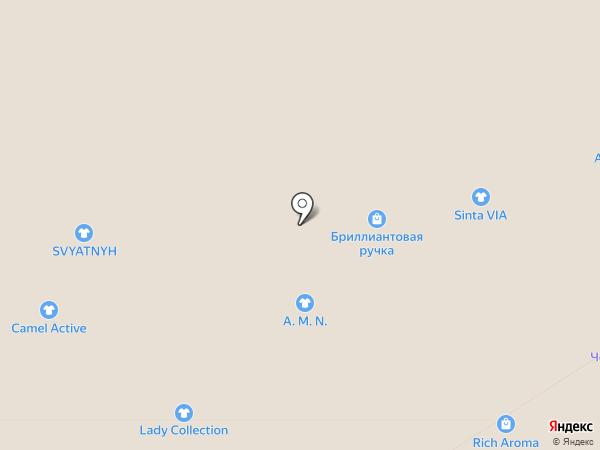 Бриллиантовая Рука на карте Тулы