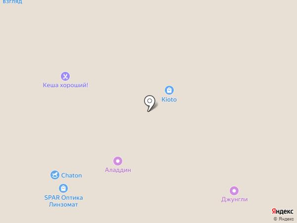 Магазин сладостей на карте Тулы