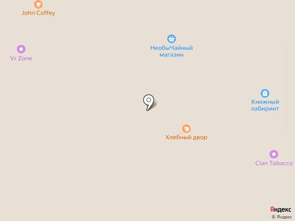 Хлебный дом на карте Тулы