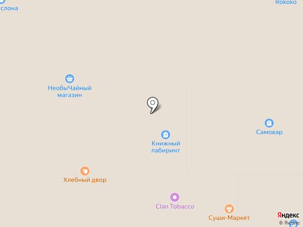 Детский островок на карте Тулы