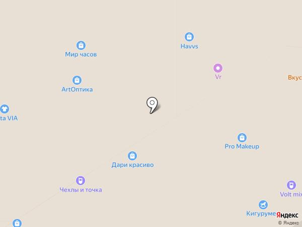 Море желаний на карте Тулы