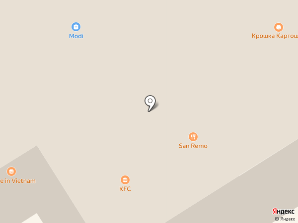 San Remo на карте Тулы
