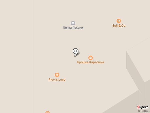 Крошка Картошка на карте Тулы