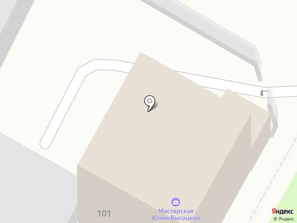 СоюзСтрой на карте Тулы