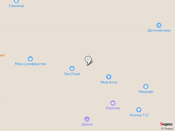 Самурай на карте Тулы
