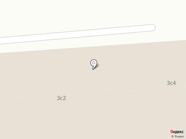 Кабриолет на карте Москвы