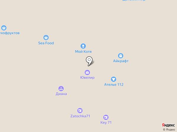 911 на карте Тулы