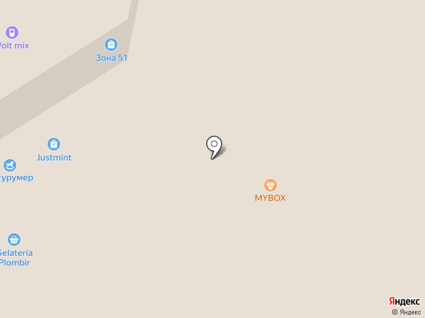 Mybox на карте Тулы