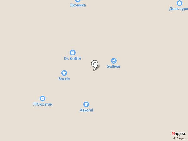 Элита на карте Москвы