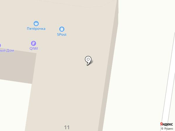 Мега РМ на карте Москвы