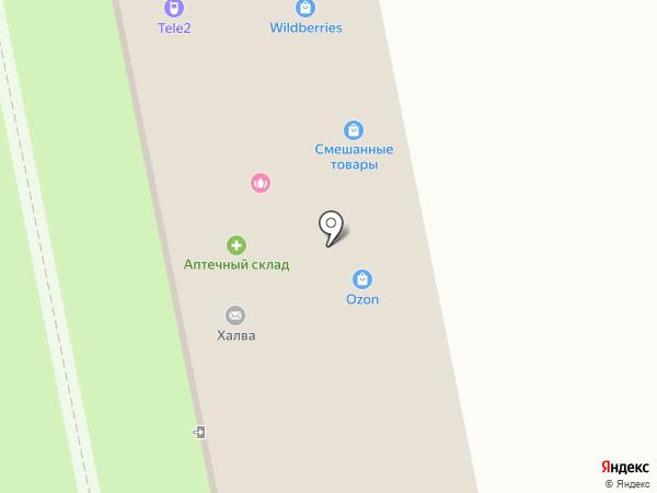 Ленмедснаб-Доктор W на карте Варениковской