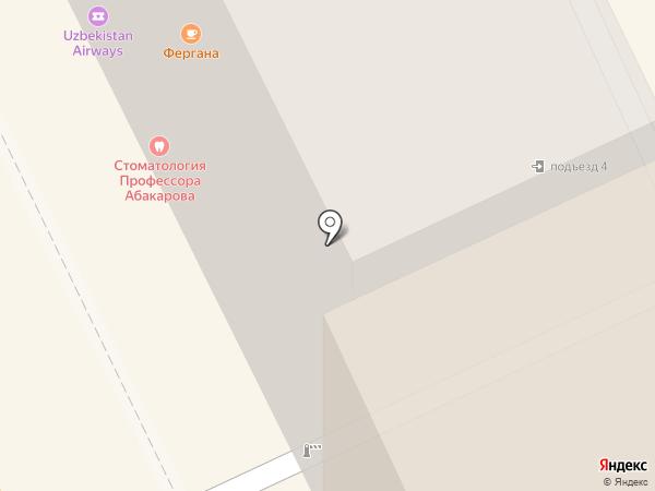 Оптика на Павелецкой на карте Москвы