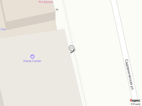 Асса на карте Москвы