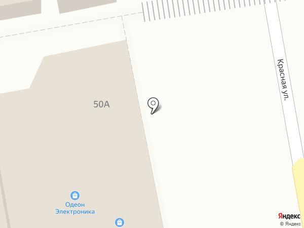 Мобильная связь на карте Варениковской