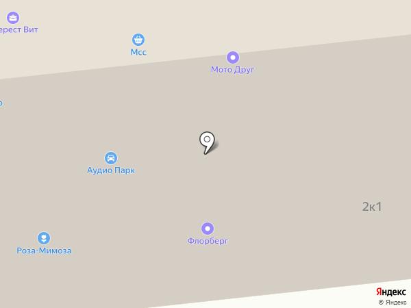 Технокон М лтд на карте Москвы