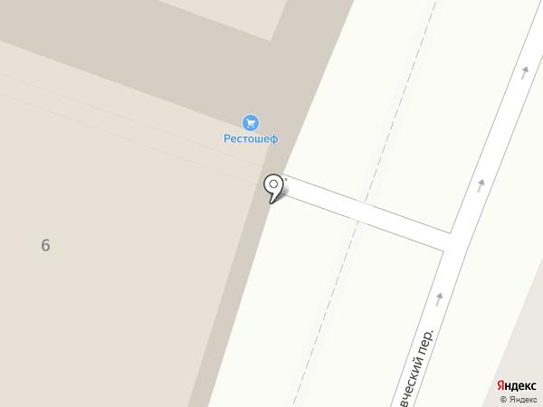SKCG на карте Москвы