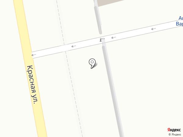 ХозТорг на карте Варениковской