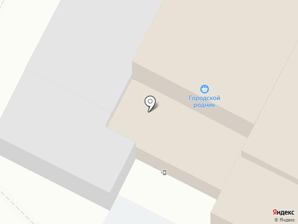 Городской родник на карте Тулы