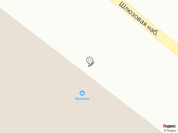 AUTOLIS на карте Москвы