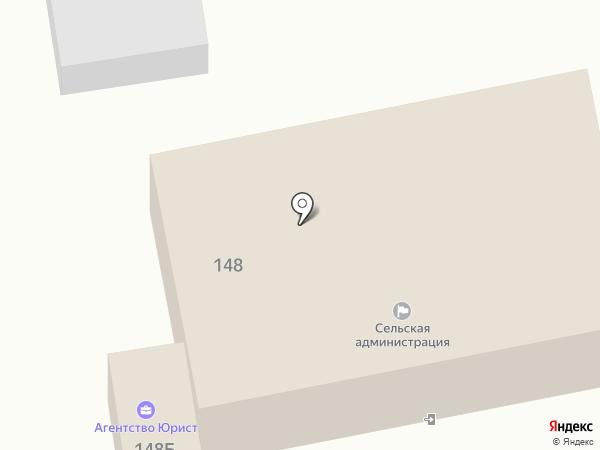 Администрация Варениковского сельского поселения на карте Варениковской