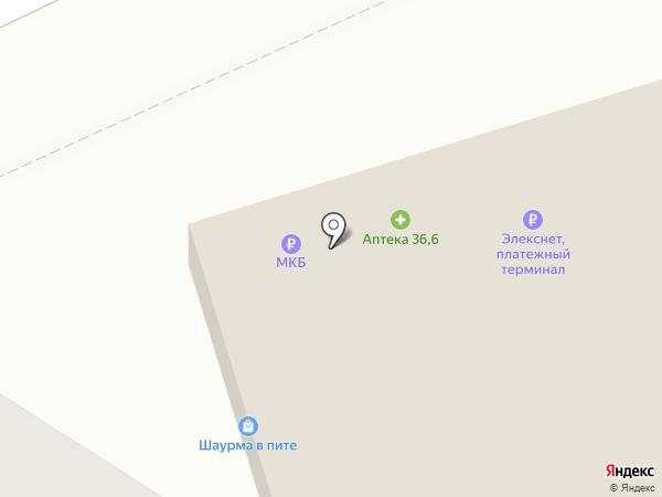Магазин цветов и подарков на карте Москвы