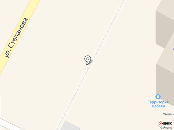 Буняка на карте Тулы