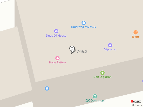 Vlad Blad на карте Москвы