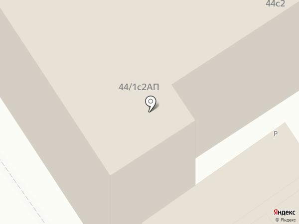 ФБК на карте Москвы