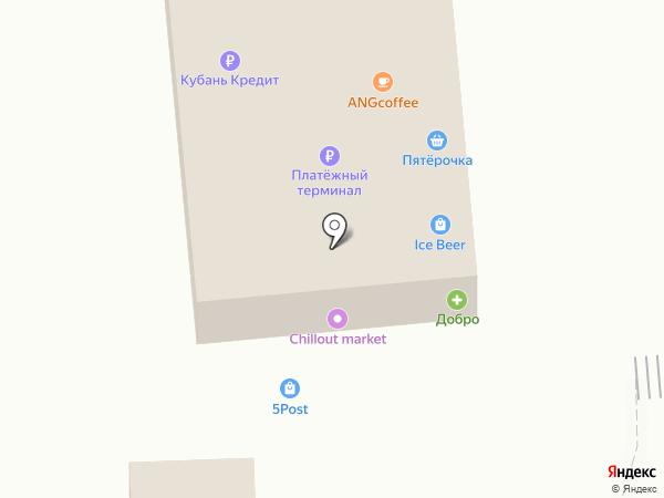 Тополёк на карте Варениковской