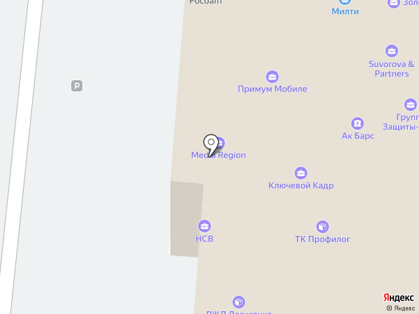 Suvorova & Partners на карте Москвы