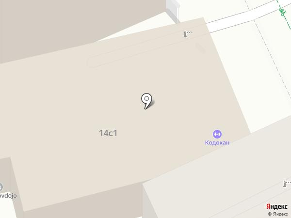 Карате Киокушинкай на карте Москвы
