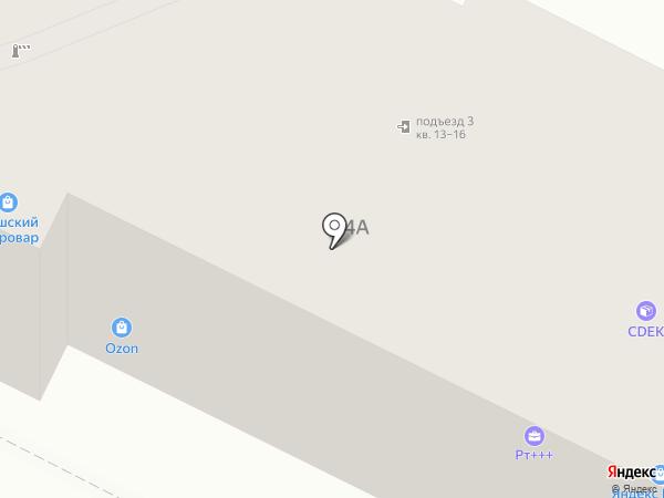 Шкатулка на карте Тулы
