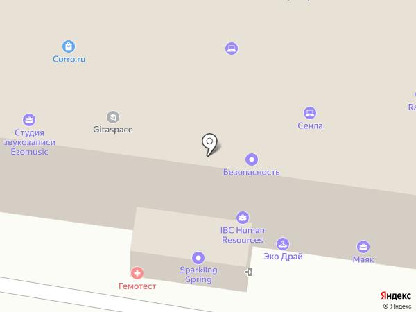 Национальный Электронно-Информационный Консорциум, НП на карте Москвы