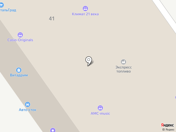 Адгейзер на карте Москвы
