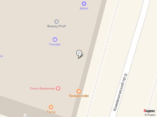 Забота и Здоровье плюс на карте Москвы
