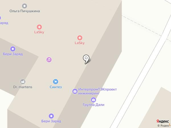 Мали-тур на карте Москвы