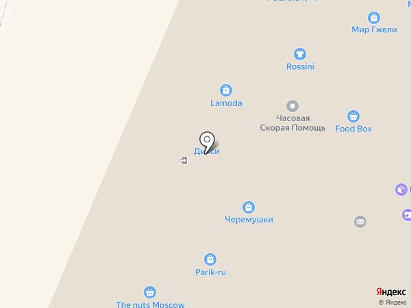 Парижская Коммуна на карте Москвы