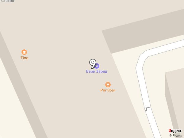 На Чили на карте Москвы