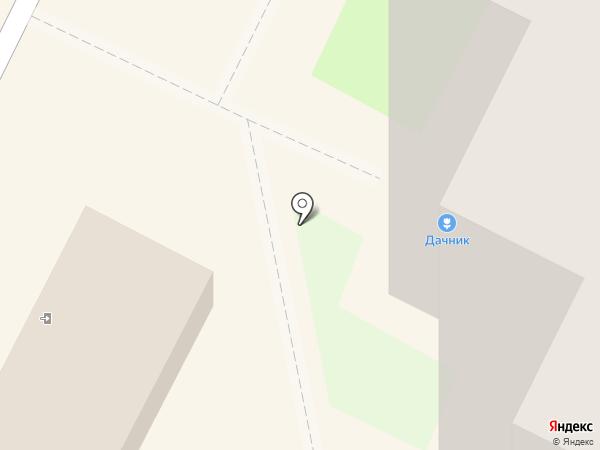 Дачник на карте Тулы